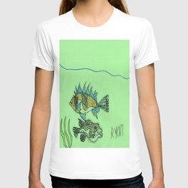 Foxface & Fugu Fish T-shirt
