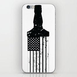 Whiskey American Flag iPhone Skin