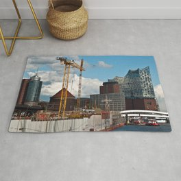 HAMBURG HARBOR SOUND Rug