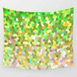 Mosaic Sparkley Texture G150 Wall Tapestry