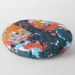 Abstract artistic painting Floor Pillow