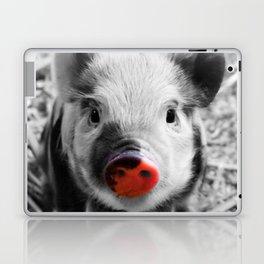 BW splash sweet piglet Laptop & iPad Skin