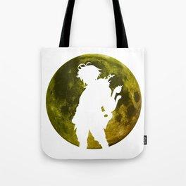 Anime Moon Inspired Design Tote Bag