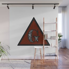 TRIANGLE G 001 Wall Mural