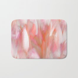 Pink Tulips Abstract Nature Spring Atmosphere Bath Mat