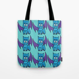 Xavier the PuppyDragon Tote Bag