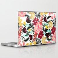 garden Laptop & iPad Skins featuring Wild Garden II by Bouffants and Broken Hearts