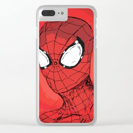 Responsibility - Spidey Clear iPhone Case