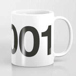 2001 Coffee Mug