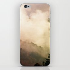 fog competes with sun iPhone & iPod Skin