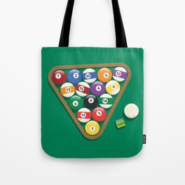 Billiard Balls Rack - Boules de billard Tote Bag