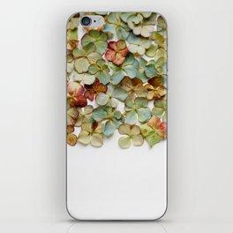 Hydrangea Petals no. 2 iPhone Skin