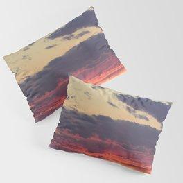 Crazy Mountain Sunset Pillow Sham