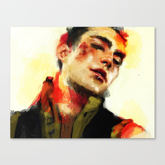Roy Canvas Print