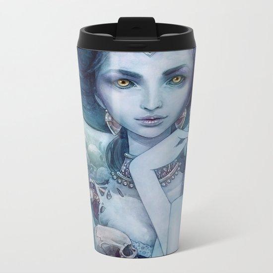 Queen of the dead Metal Travel Mug