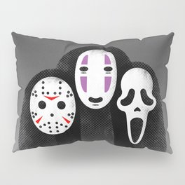 The Three MASKeteers Pillow Sham