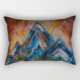 Spirit Of The Mountains Rectangular Pillow
