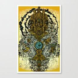 FUNKY TOTEM Canvas Print