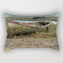 Old Boats Rectangular Pillow