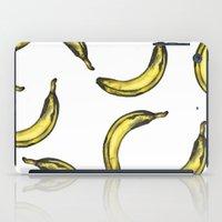 banana iPad Cases featuring Banana by kristinesarleyart