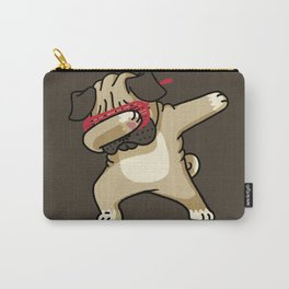 Dabbing Pug Carry-All Pouch