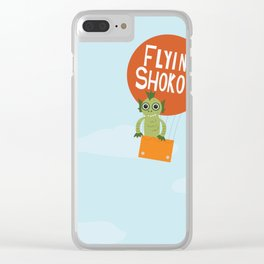 Flying Shokoy (Philippine Mythological Creatures Series #4) Clear iPhone Case