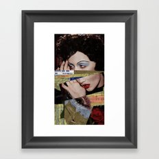Model Mayhem Framed Art Print