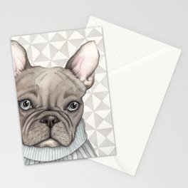 French style - French Bulldog Stationery Cards