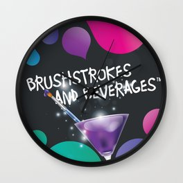 Let your inner artist come alive! Wall Clock