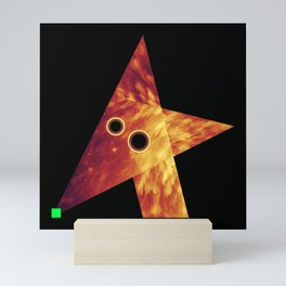 Wolf, Exploring Space Mini Art Print