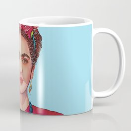 Frida Kahlo Defiant Coffee Mug