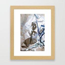Icegeist Inverted Framed Art Print