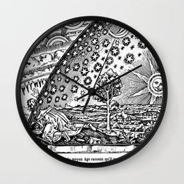 Flammarion Woodcut Wall Clock