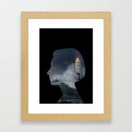 Lose my mind Framed Art Print