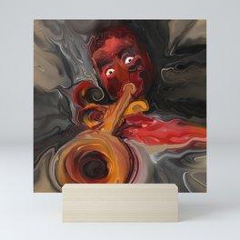 Satchmo Mini Art Print