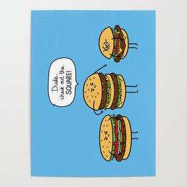 Burger Bullies Poster
