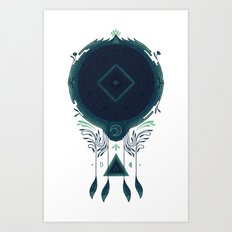 Cosmic Dreaming Art Print