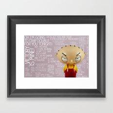 Victory is Mine.... Framed Art Print