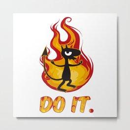"disenchantment; Luci ""Do it"" Metal Print"