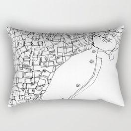 I Gotta Do it Man Rectangular Pillow