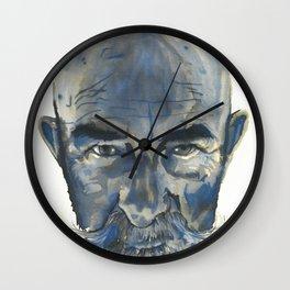 Old Man #002 Wall Clock