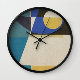 An Inquisitive Face Wall Clock