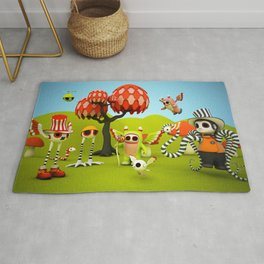 The Gathering Rug