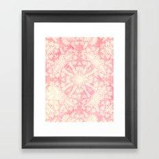 Shabby Arabesque Pattern II Framed Art Print