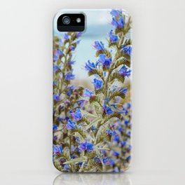 Lake Tekapo Flower Delight iPhone Case