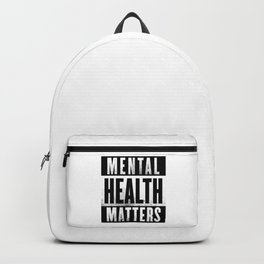 Mental Health Matters Backpack