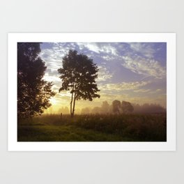 One summer day (wide) Art Print