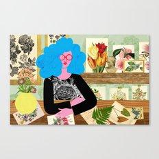 Garden Room Canvas Print