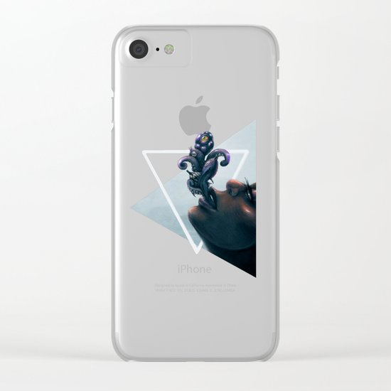 Effervescent in the Pure of Water Clear iPhone Case