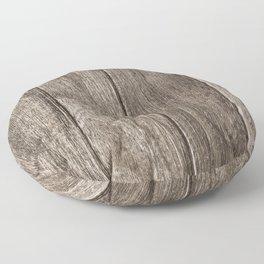 Old wood Floor Pillow